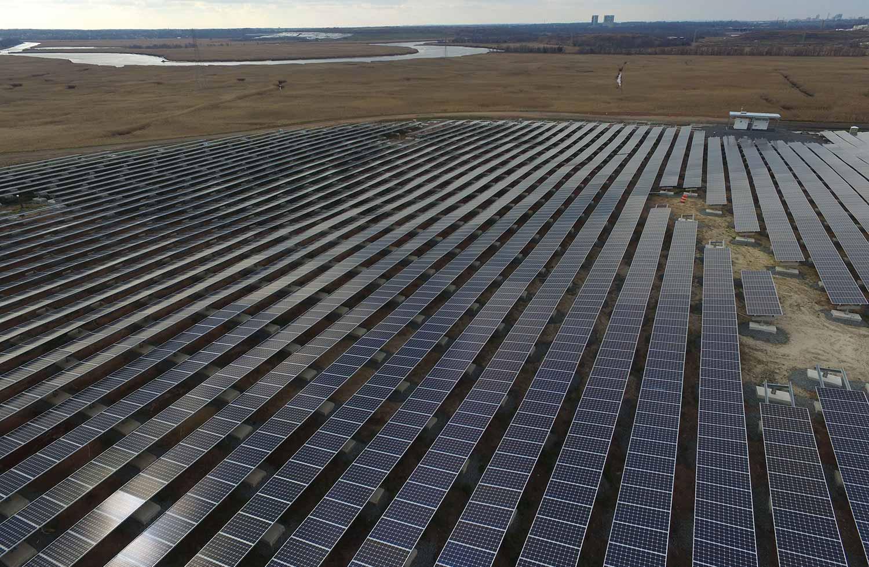 ILR solar landfill in Edison NJ.