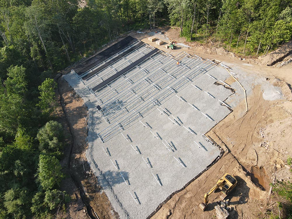 Installation Process of Solar Ground Mounts