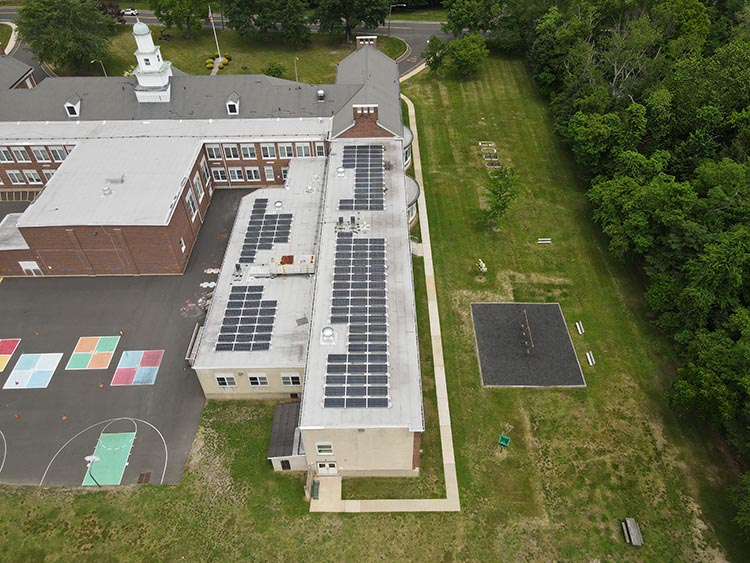 Drone Picture of Ardena Elementary School