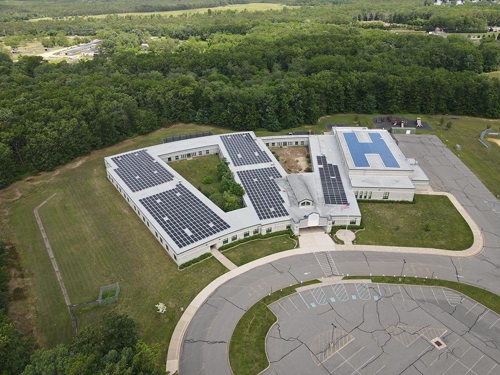 Greenville school Roof mount