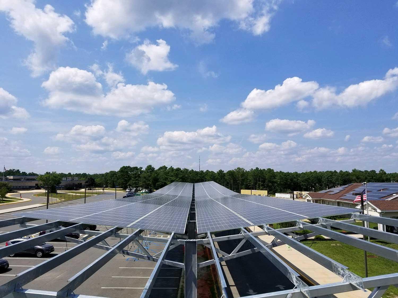 Solar carports in Manahawkin, NJ