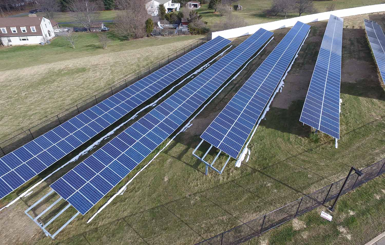 Flanders NJ solar installation photo.